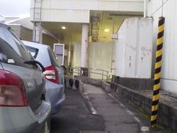 長岡駅駐車場スロープ