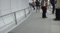 天望回廊のスロープ