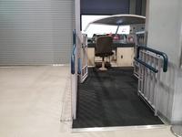 200系シュミレーター 車椅子スロープ