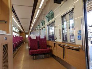 634型(車椅子用座席)
