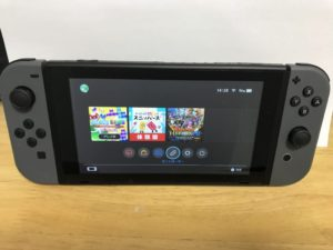 Nintendo Switch(グレー)