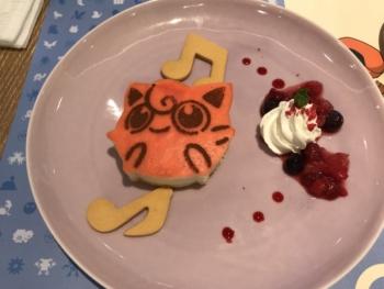 プリン チーズケーキ