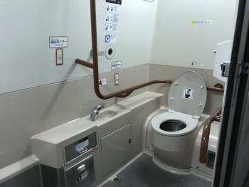 700系多目的トイレ(内部)