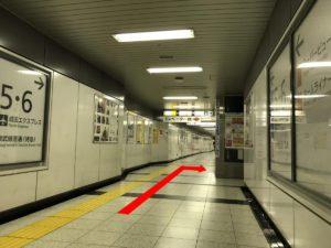 新宿駅エレベーター(B地点)