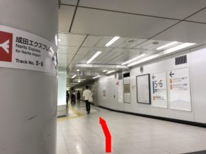 新宿駅エレベーター(D地点)