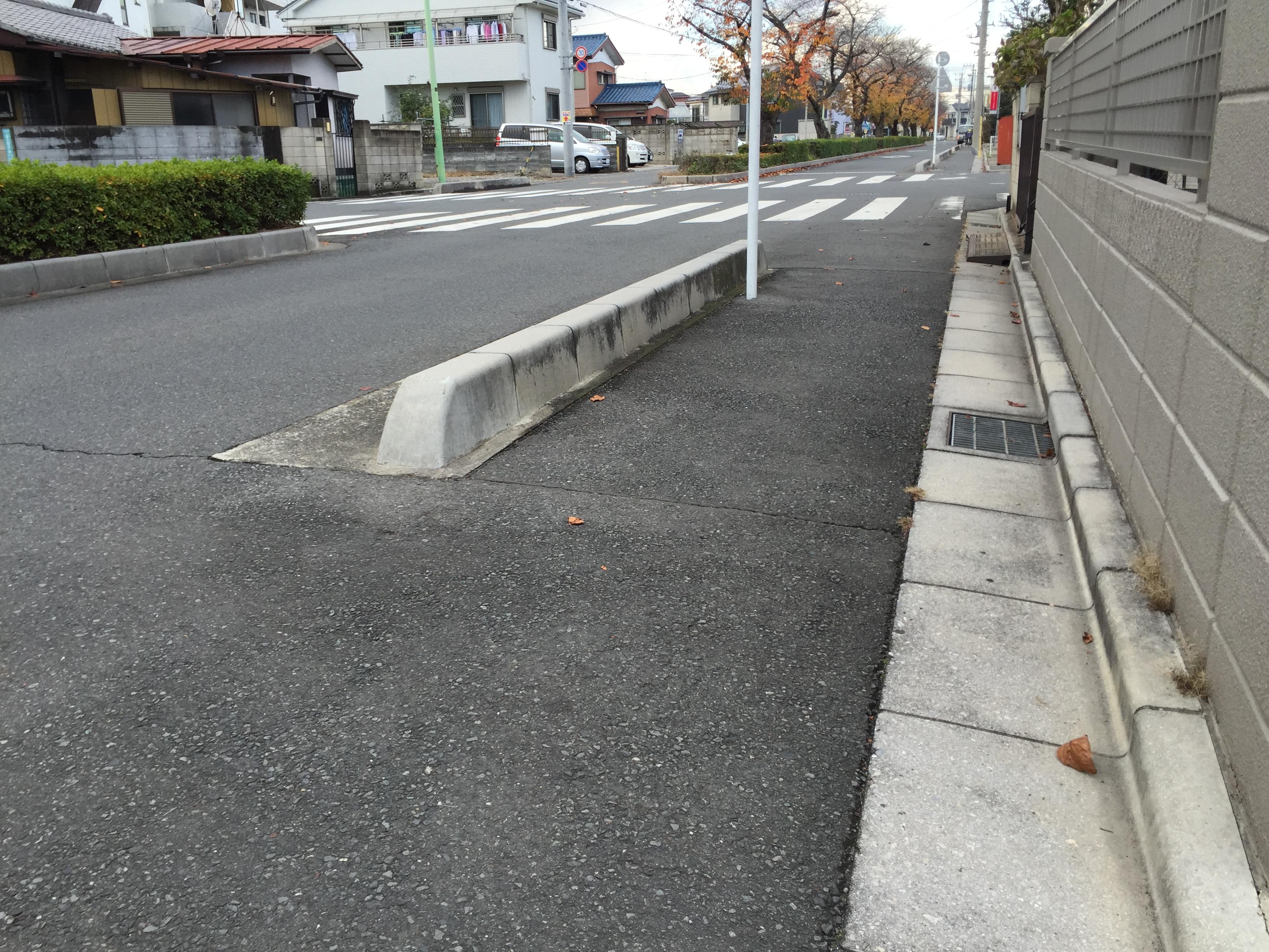 車椅子における歩道の段差問題 –...