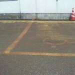 意味の無い駐車場1